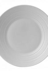 Wedgewood White Bone China Swirl Salad Plate