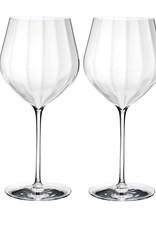 WWRD WWRD  Elegance Optic Big Red Wine Glass Set of 2