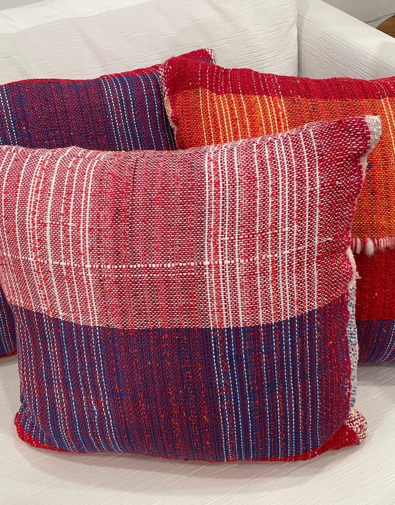 Tara Roblin Tara Roblin Textiles 18X18 Candy Crush Cushion with feather filler
