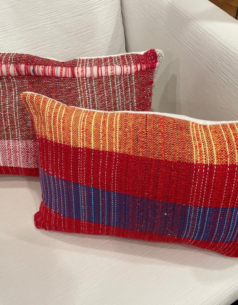 Tara Roblin Tara Roblin Textiles 12 x 20 Candy Crush Cushion with feather filler