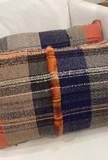 Tara Roblin Tara Roblin Textiles 14 X 24 Autumn Tassle Cushions with feather filler