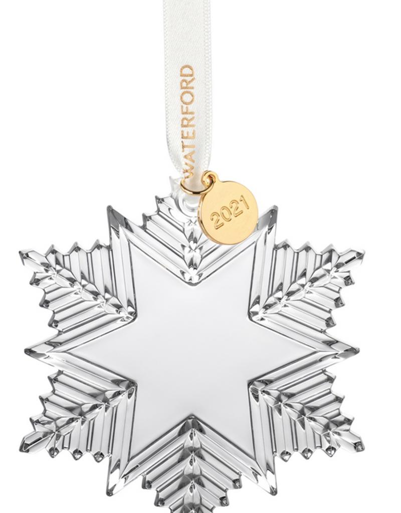 WWRD Waterford Snowcrystal Ornament