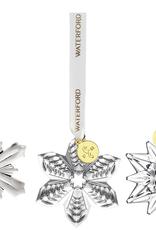 WWRD Waterford Set of 3 Mini Ornaments