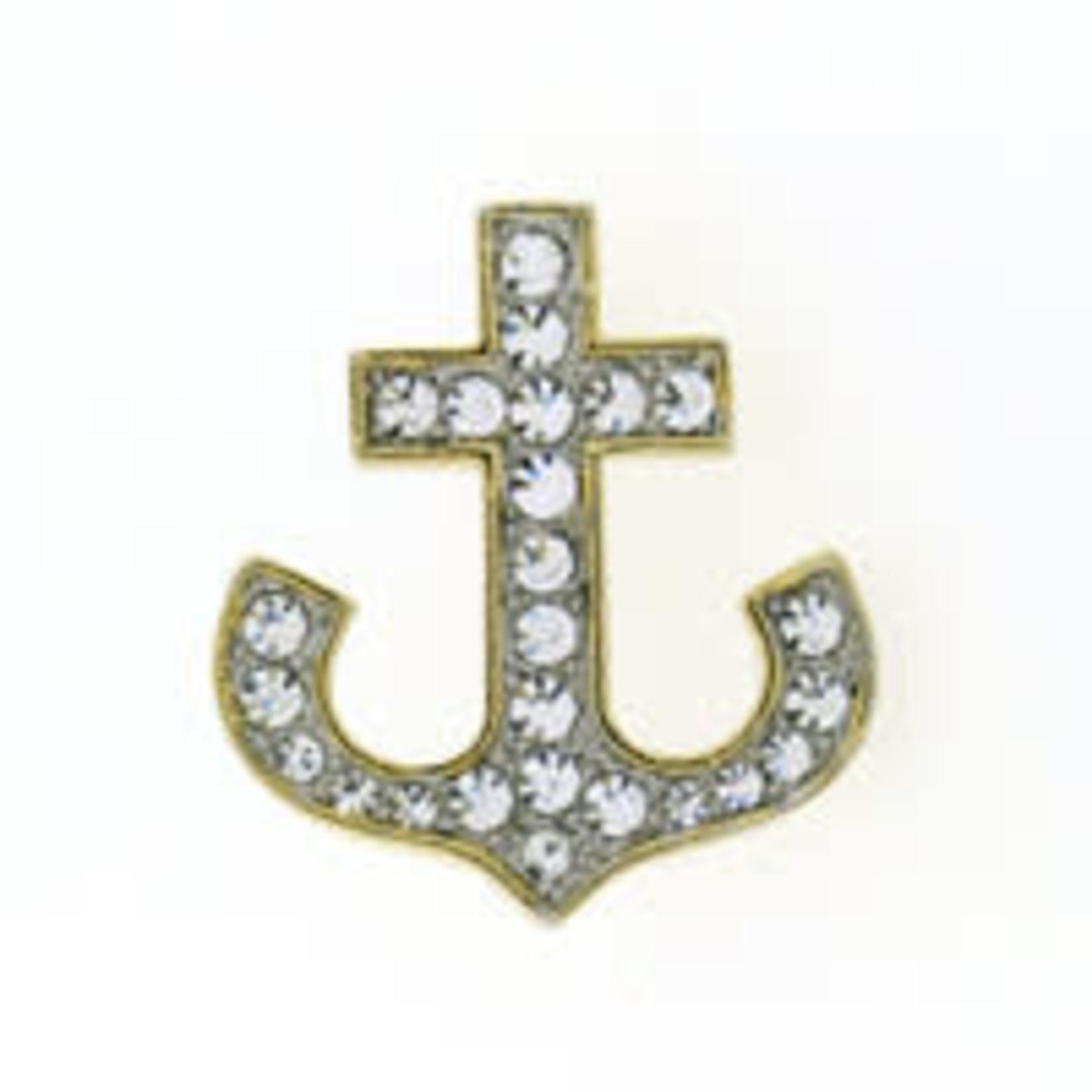Anchor Brooch