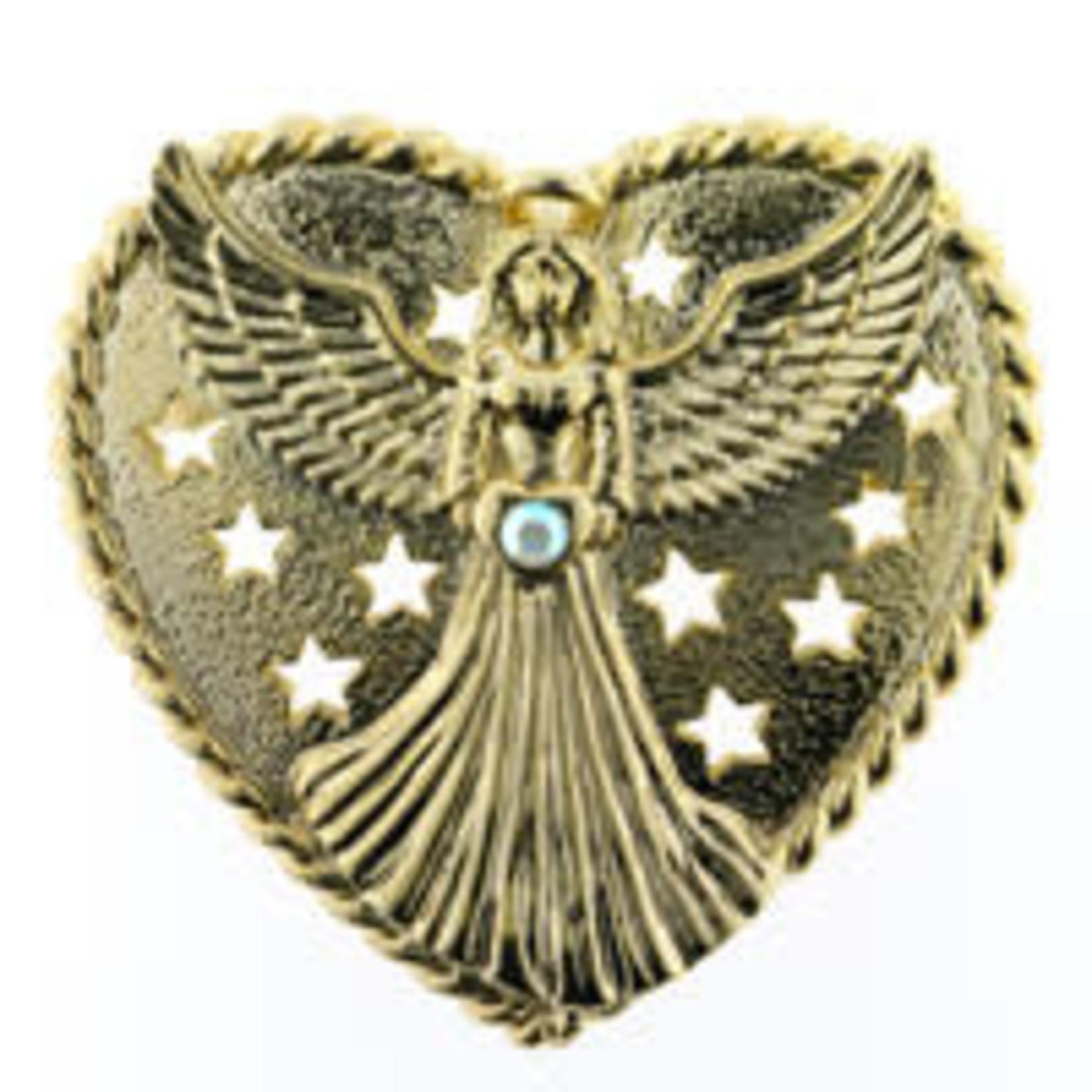 Angel in Heart Brooch