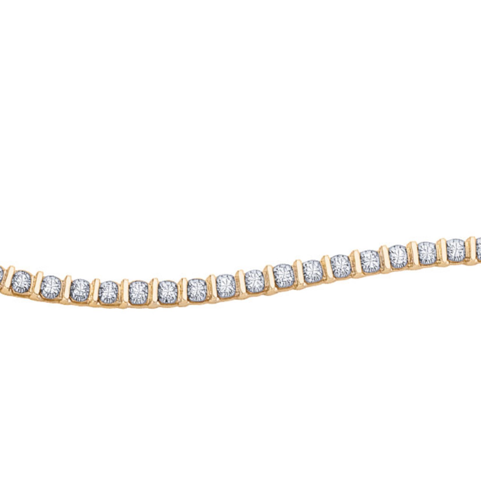 3 ct T.W. Diamond Bracelet