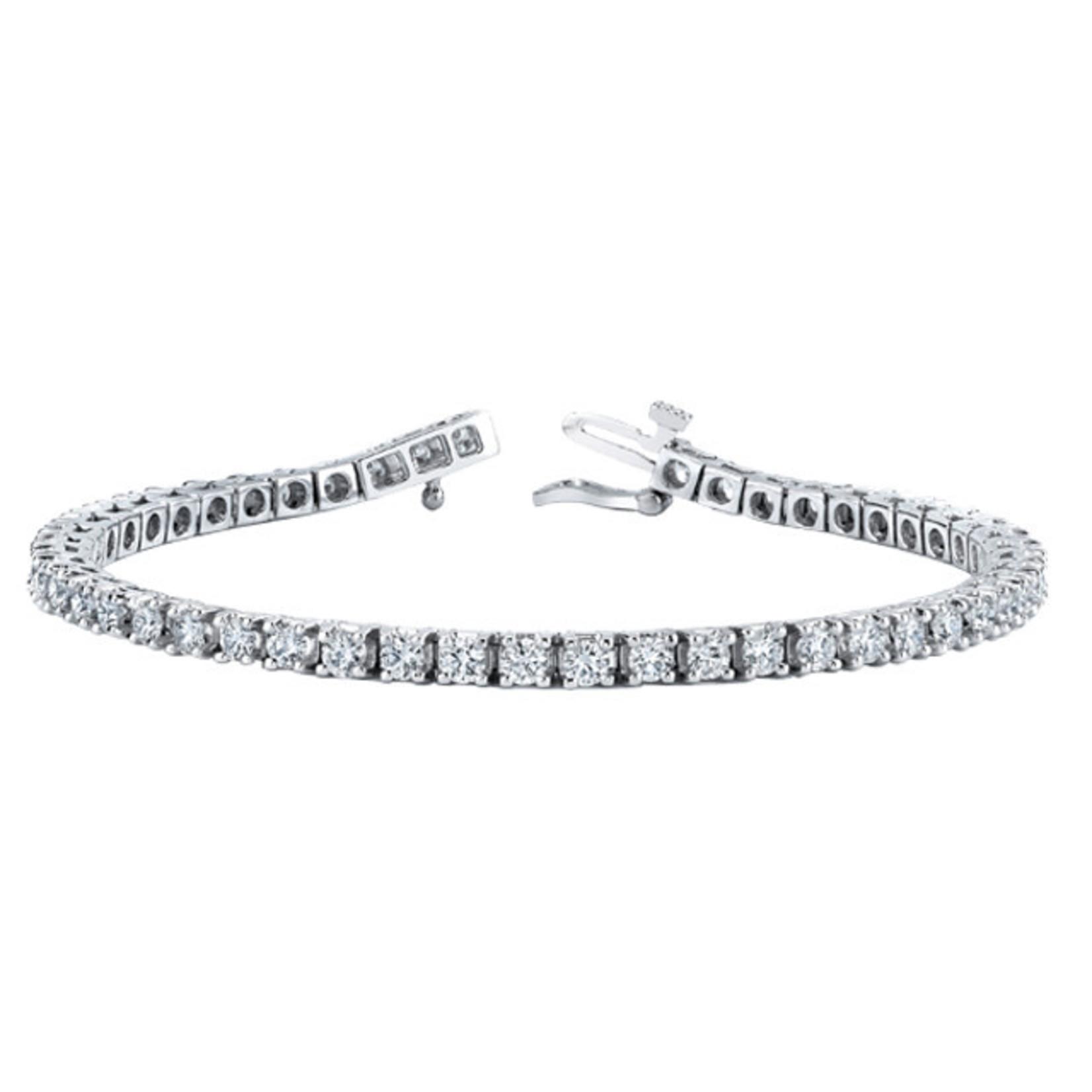 12 ct T.W. Diamond Bracelet