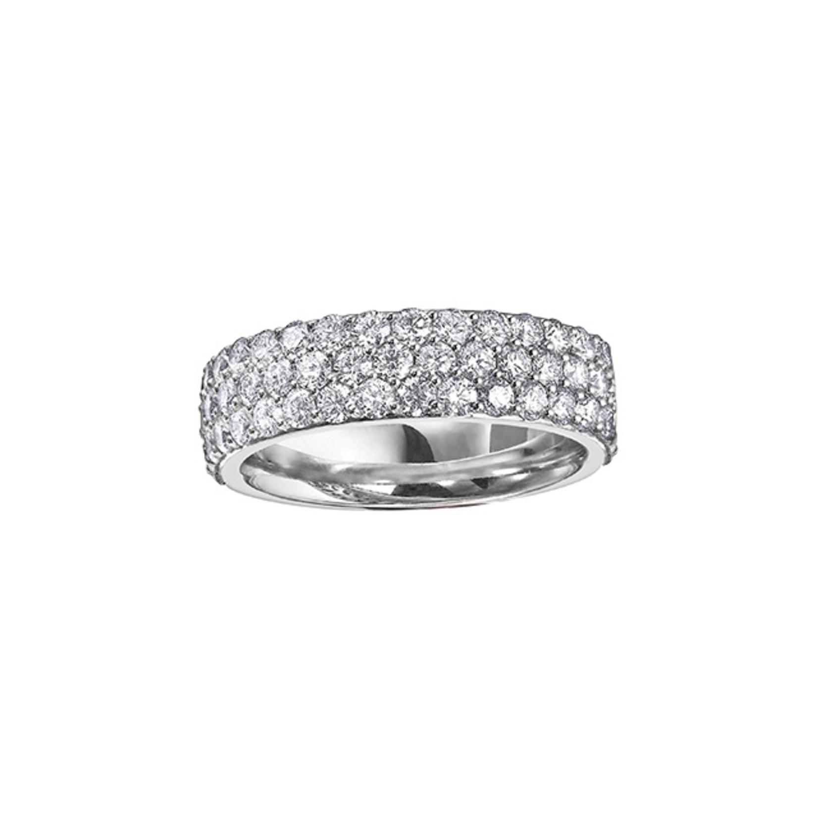 Pavé Diamond Ring