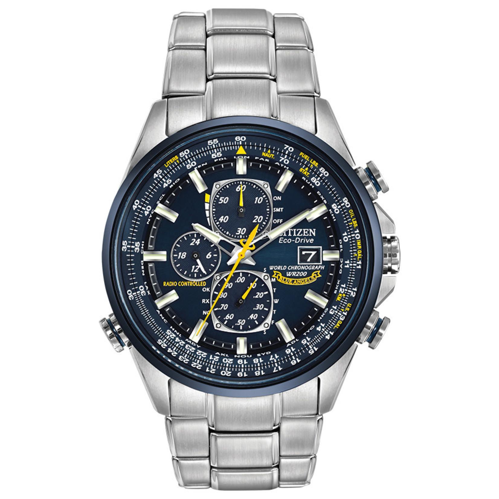Citizen Citizen Blue Angels World Chronograph Watch