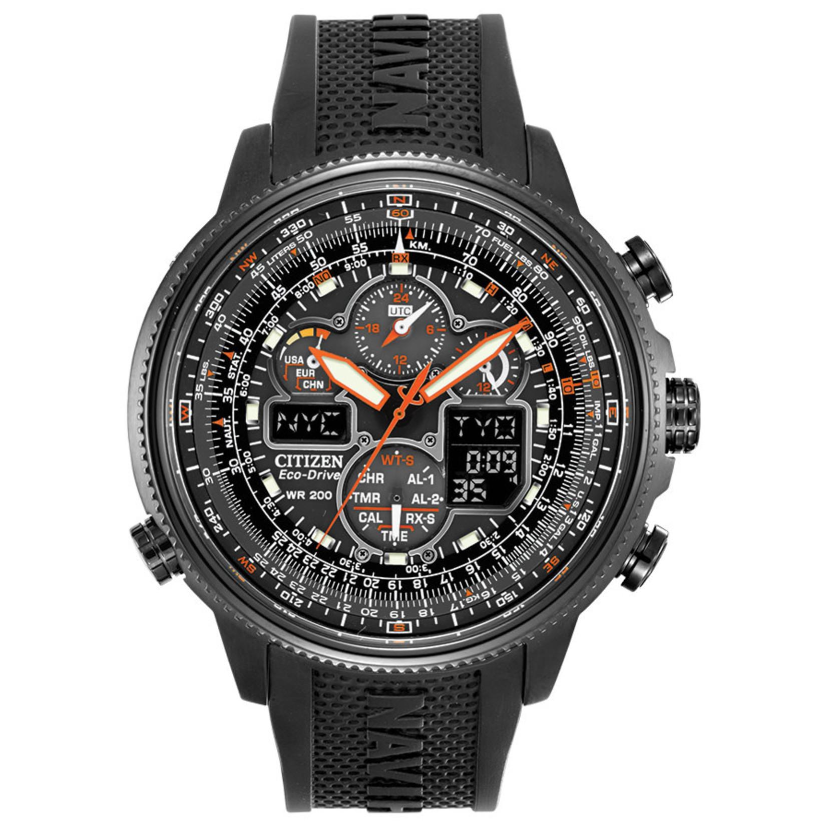 Citizen Citizen Promaster Navihawk A-T. With Atomic Clock Watch