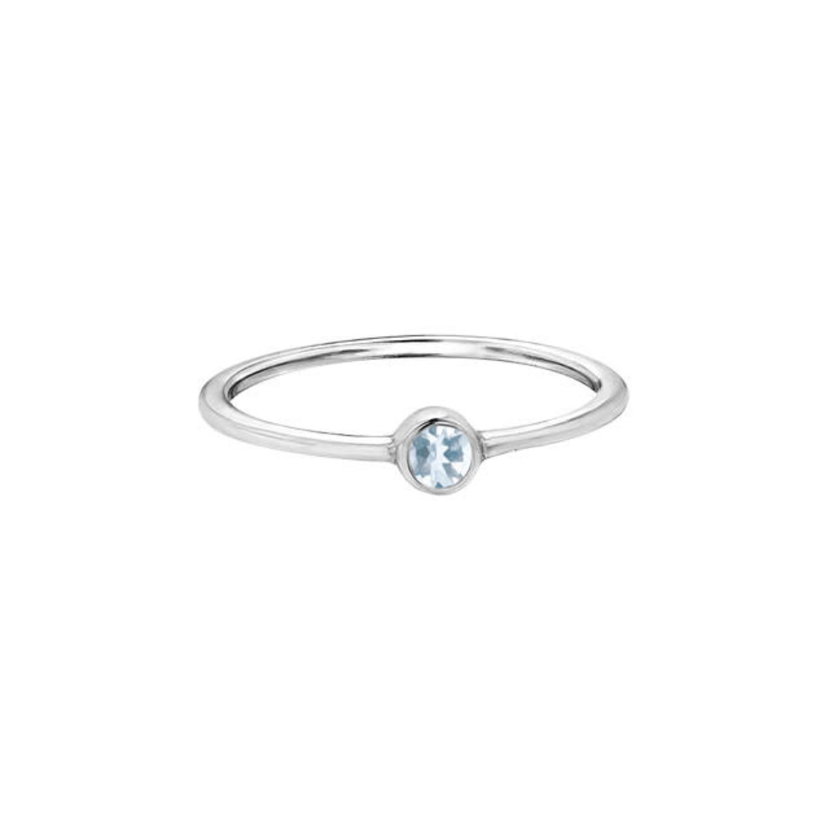 Aquamarine Ring 10k
