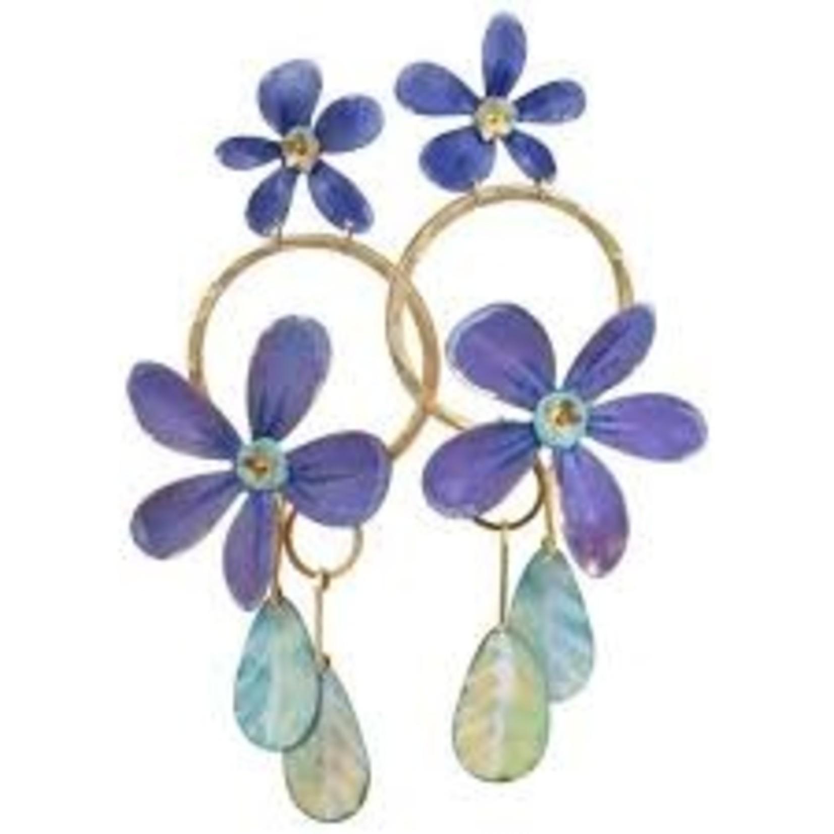 We Dream in Colour Samoa Handpainted Earrings