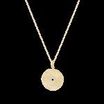 Ela Rae Ela Rae Flower Medallion Necklace