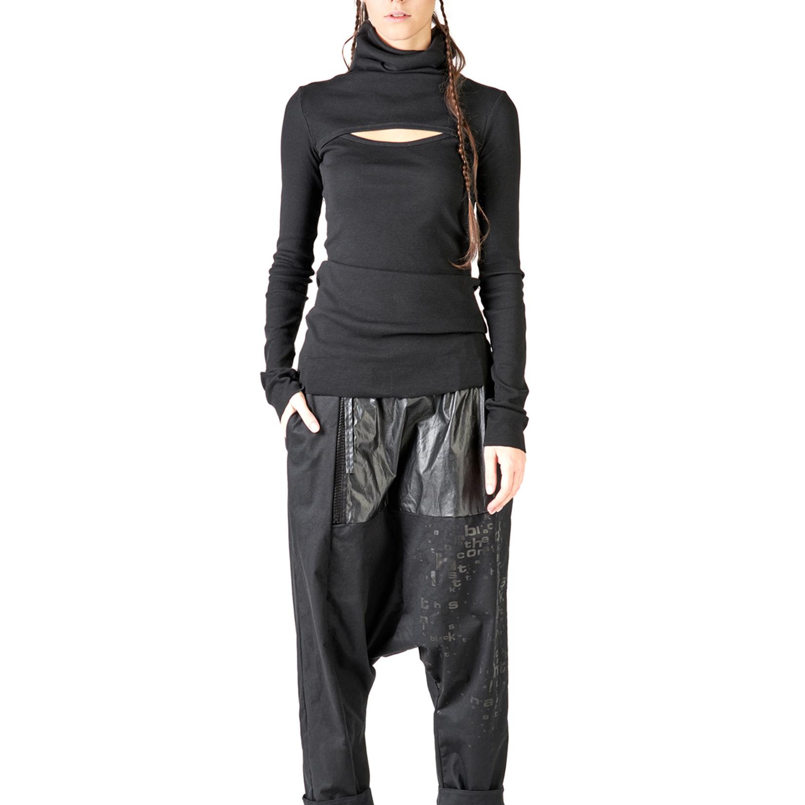 StudioB3 Black Musaio Pants
