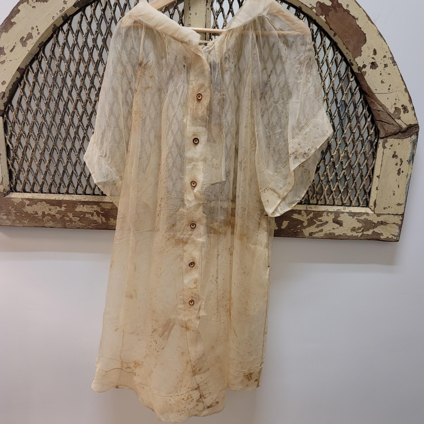 Peng Tai Peng Tai Tea Dyed Silk Duster
