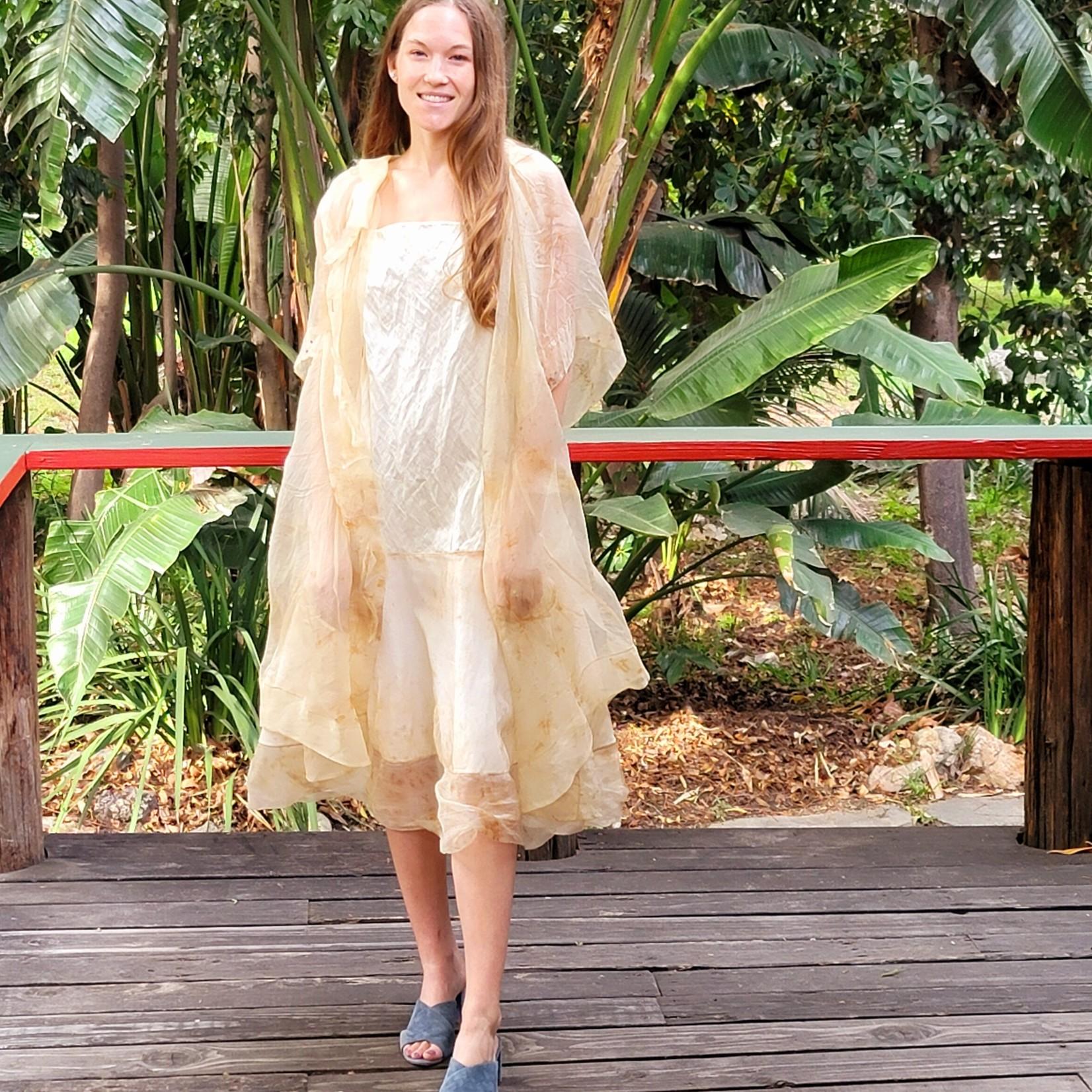Peng Tai Silk Duster