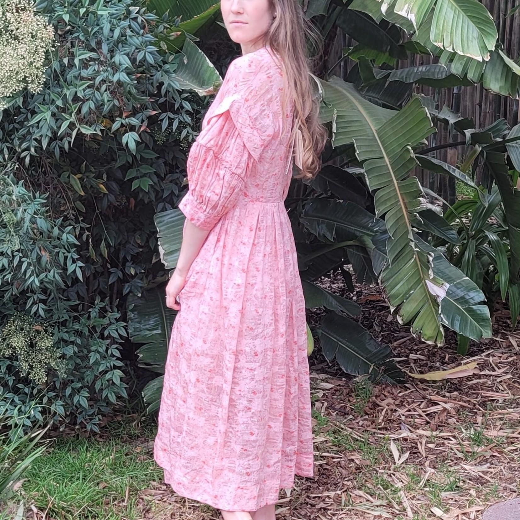 Renlu Su Renli Su Pink Dress