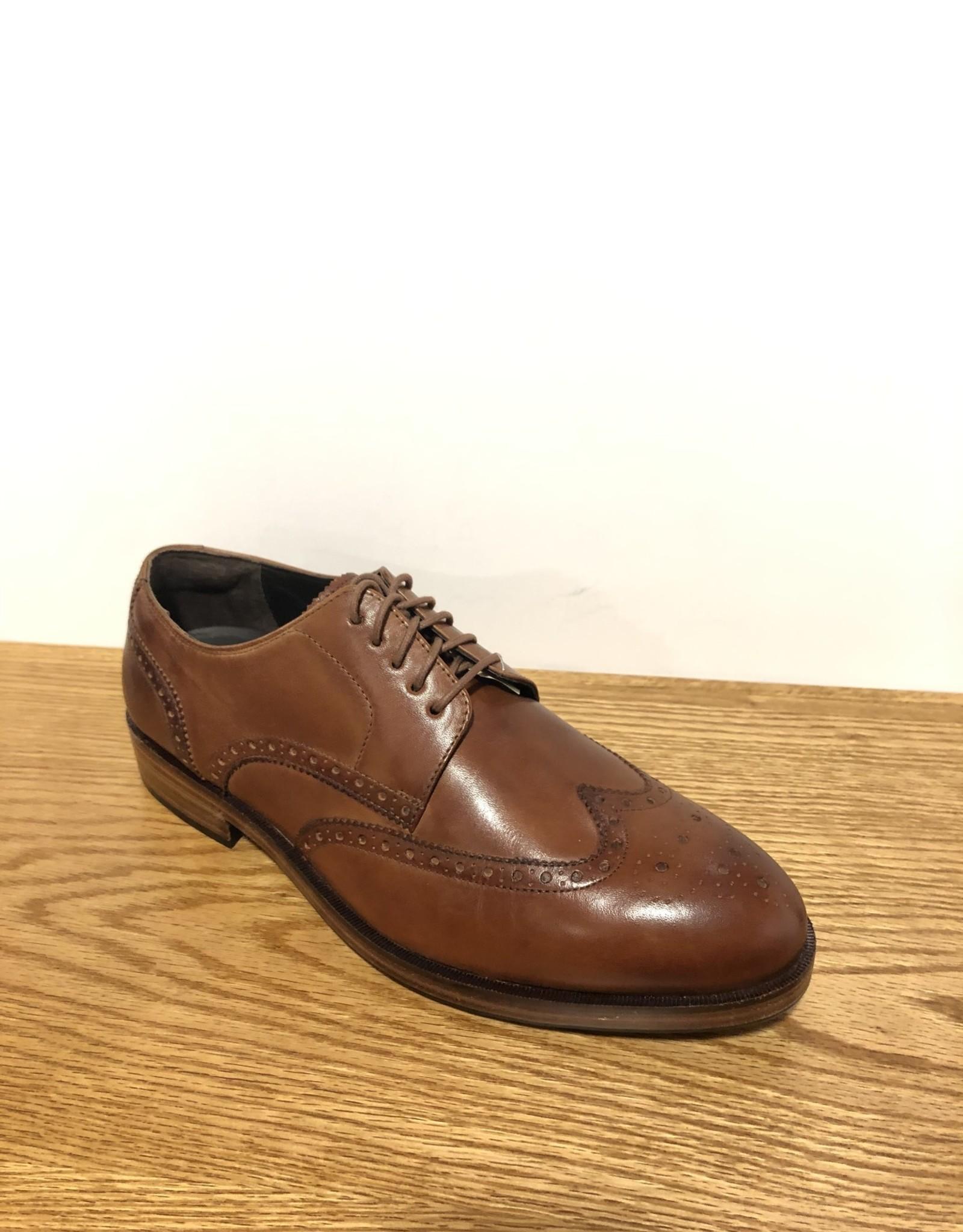 COLE HAAN C24168W Harrison Tan Wing Reg $295 Size 8