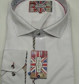 EROS SATEEN WHITE Sport Shirt Size 9