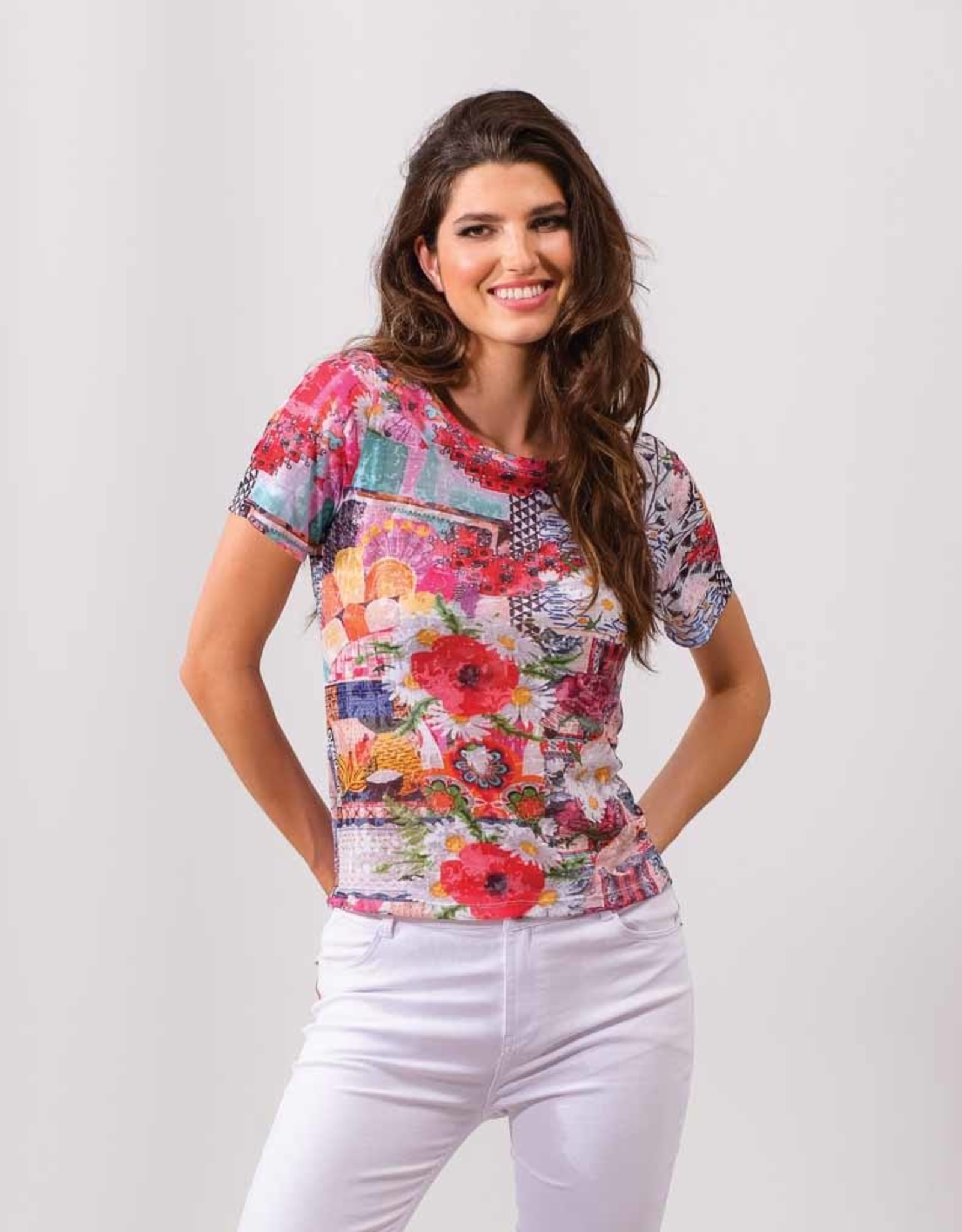 ESINC A37324 Multi Print Top