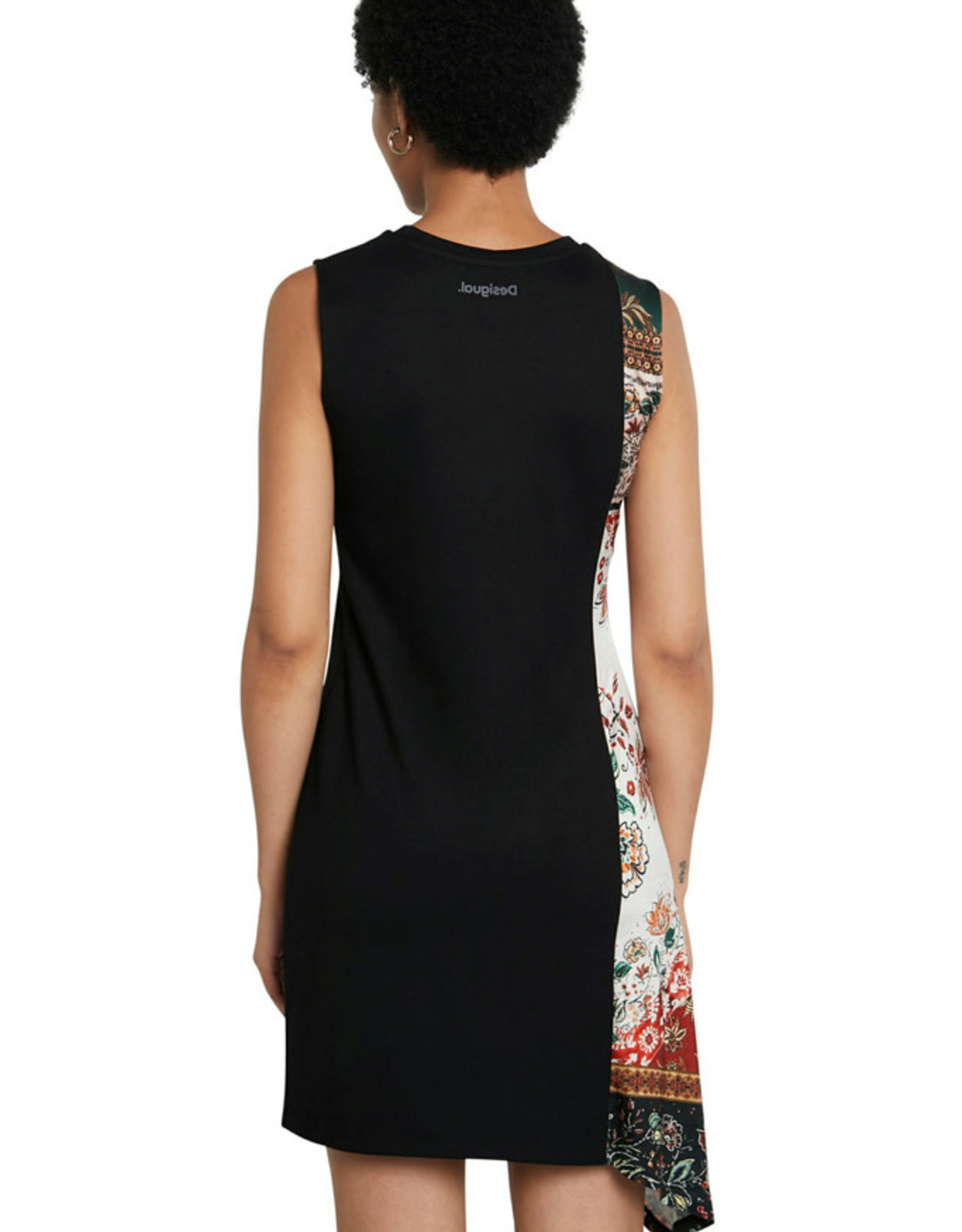 DESIG 21SWVK28 2000 Black Thaiyu Dress