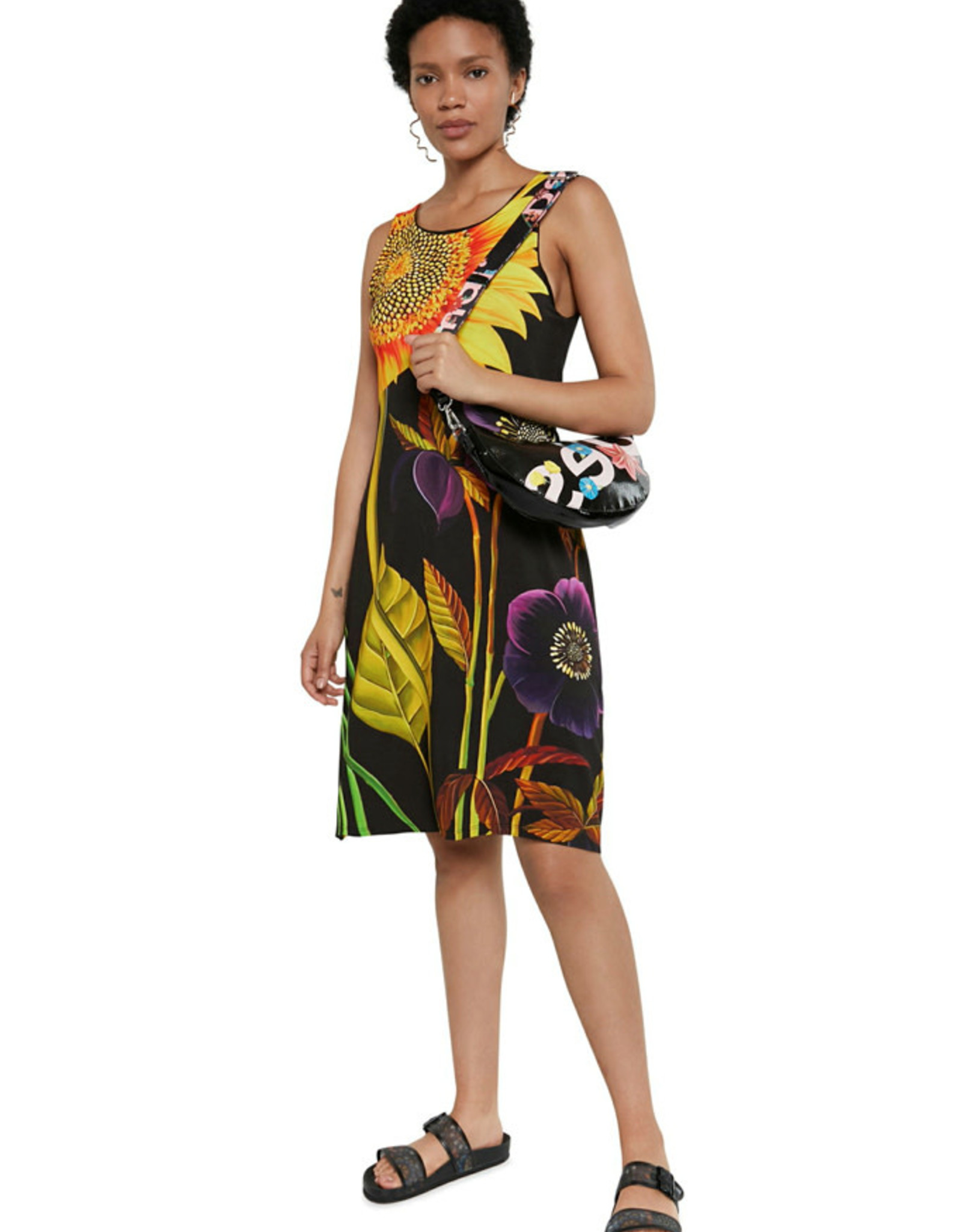 DESIG 21SWVKB3 2000 Marlon Black Dress
