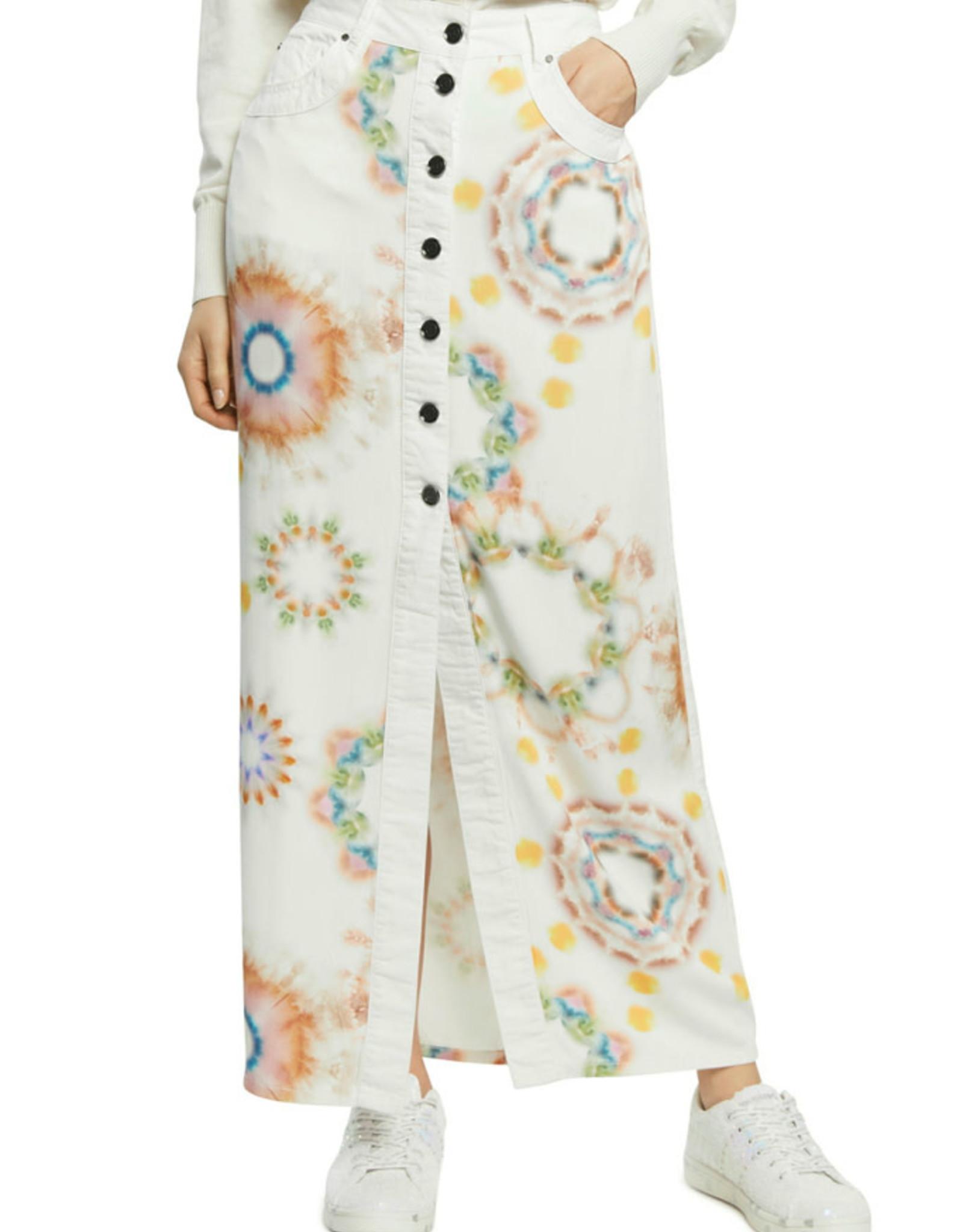 DESIG 21SWFW17 1010 Sunny Day Long Skirt