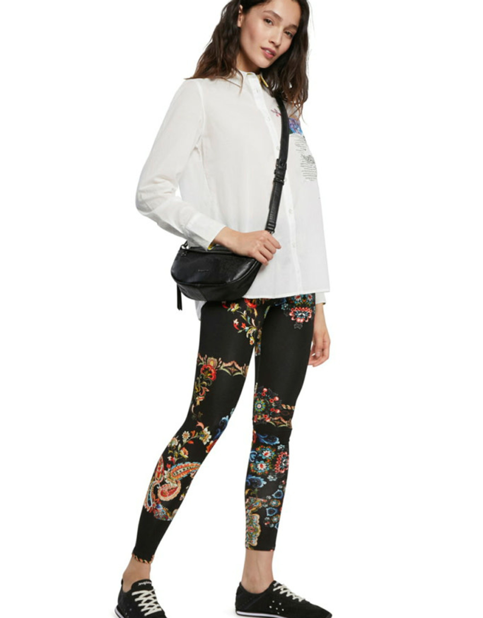 DESIG 21SWKK08 2000 Galactic Black Leggings