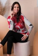 ESINC A38170 Multi Coloured Mock Neck Sweater