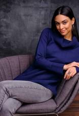 ESINC EW27063 Indigo Cowl Sweater