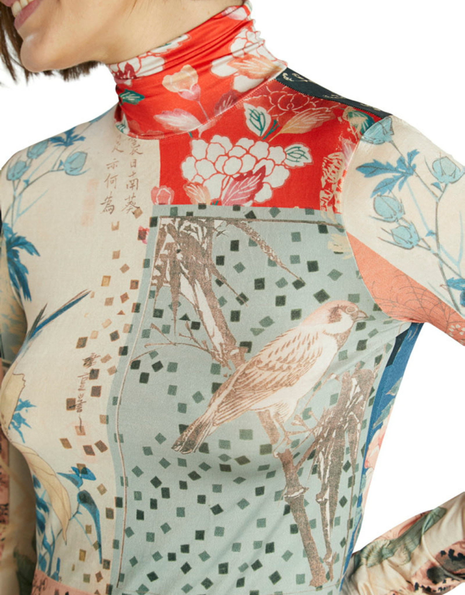 DESIG 21WWTKA9 5028  Kyoto Azul Plomo LS Top