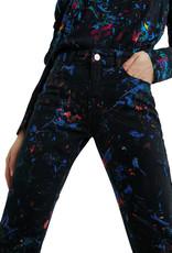 DESIG 21WWPN08 2000 Splatter Black NegroTrouser