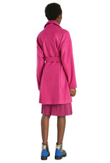 DESIG 21WWEWB 3022 Fuchsia Rose Wool Coat