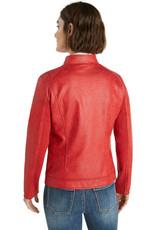 DESIG 21WWEW28 3007 Burgundy Chaq Comaruga Jacket