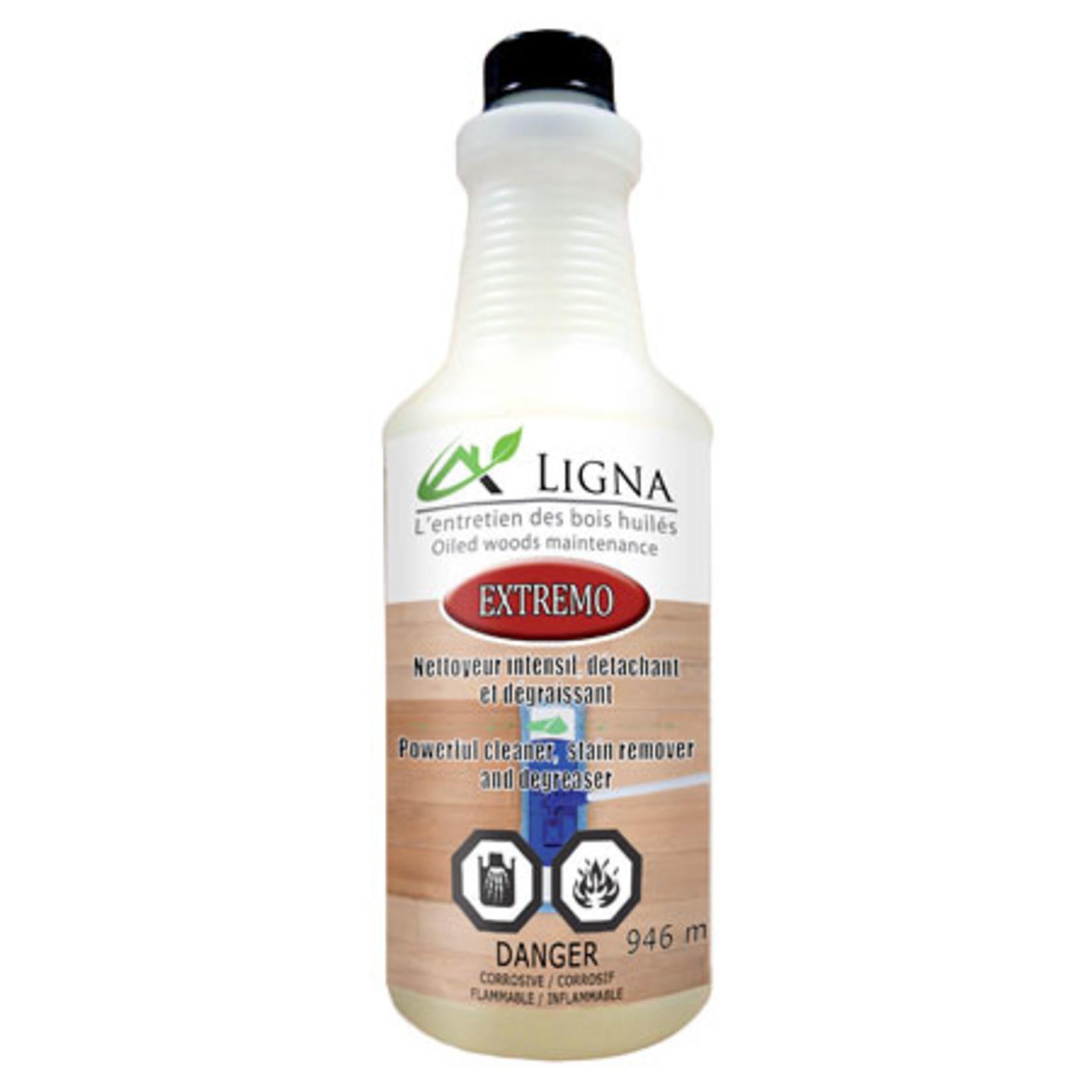 Ligna Extremo - Nettoyant détachant et dégraissant 946 ml