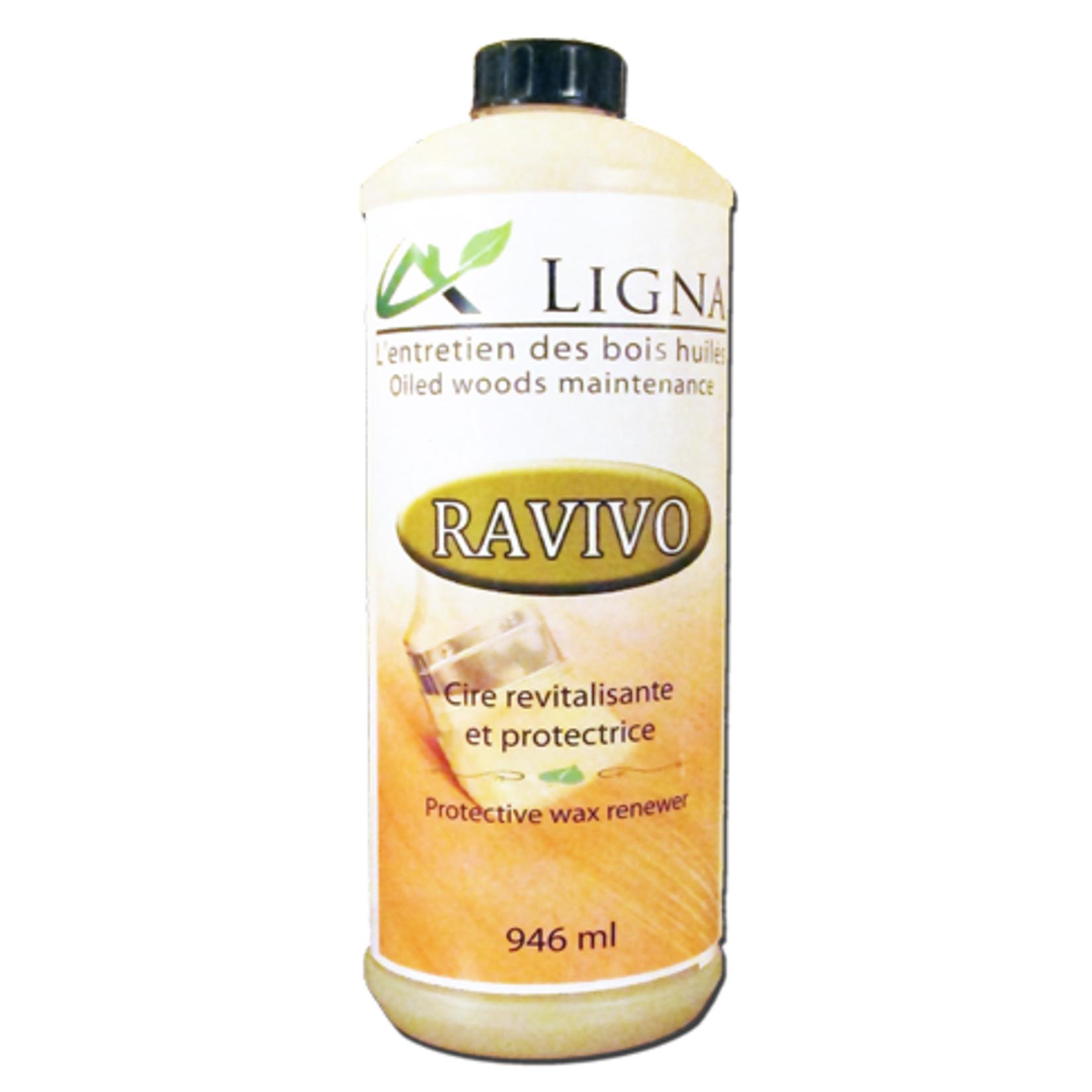 Ligna Ravivo - Cire pour plancher huilé 946 ml