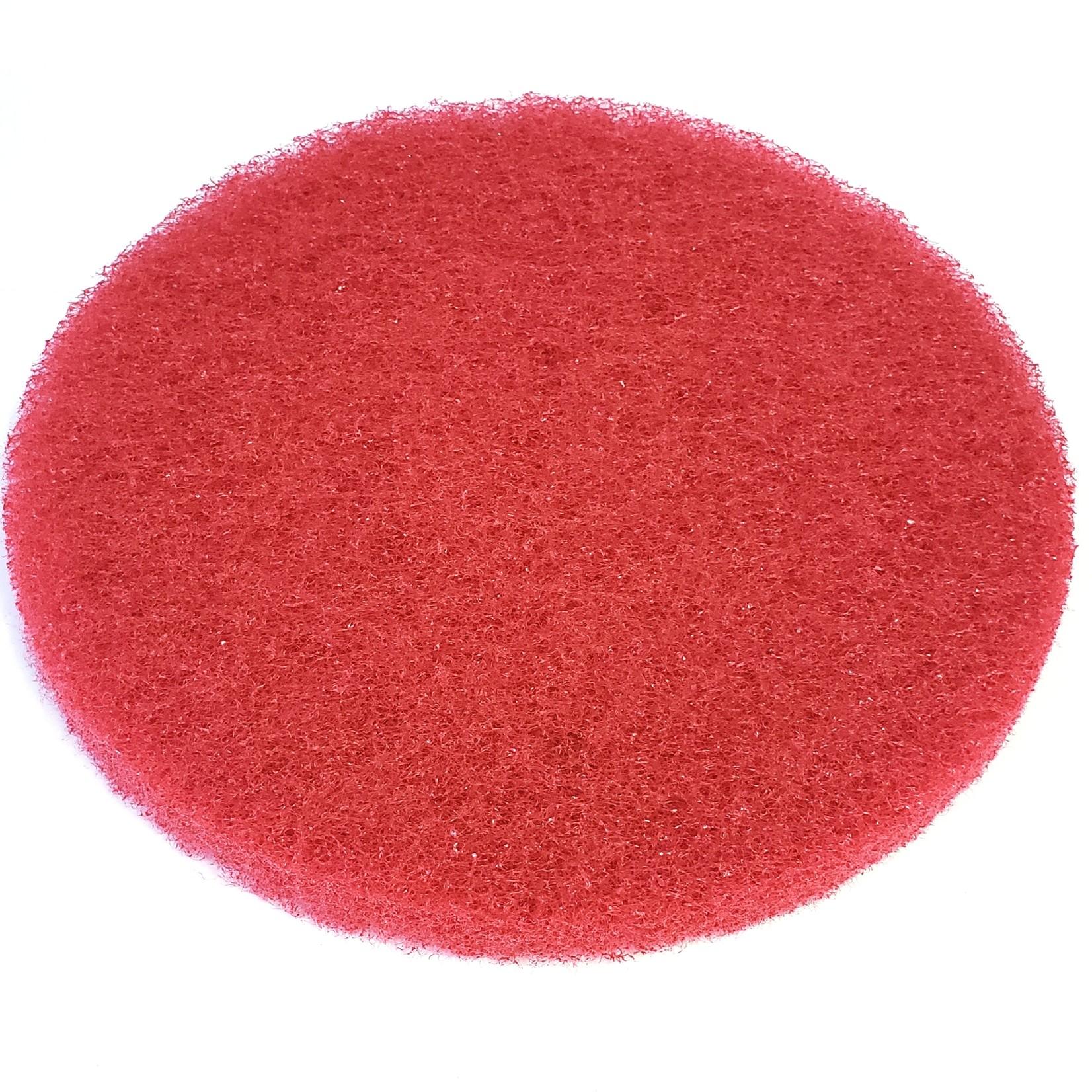"Tampon à polir 12"" rouge"