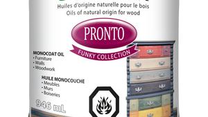 Nouvelles couleurs pour l'huile Pronto - Collection Funky