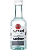 BACARDI BACARDISUPERIOR LIGHT RUM.050L
