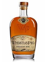 WHISTLE PIG WHISTLE PIG10 YR STRAIGHT RYE.750L
