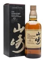 THE YAMAZAKI SINGLE SMALT WHISKEY 12YR  .750L
