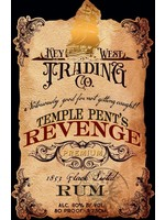 KEY WEST TRADING CO. KEY WEST TRADING CO.TEMPLE PENT'S RUM.750L