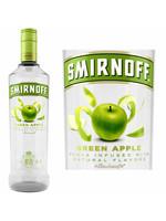SMIRNOFF SMIRNOFF GREEN APPLE  VODKA 60  .750L