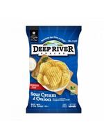 DEEP RIVER CHIPS SOUR CREAM ONION 2OZ