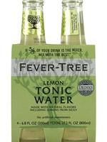 FEVER-TREE FEVER-TREE LEMON TONIC WATER 4PK .20L