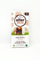 Alter Eco Alter Eco - Grass Fed Milk Bar, Salted Almond