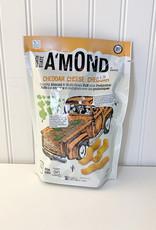 Amond AMond Snacks - Snack Puffs, Cheddar Cheese (85g)