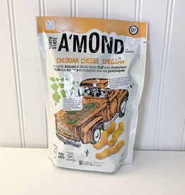 Amond AMond Snacks - Snack Puffs, Cheddar Cheese (85g)
