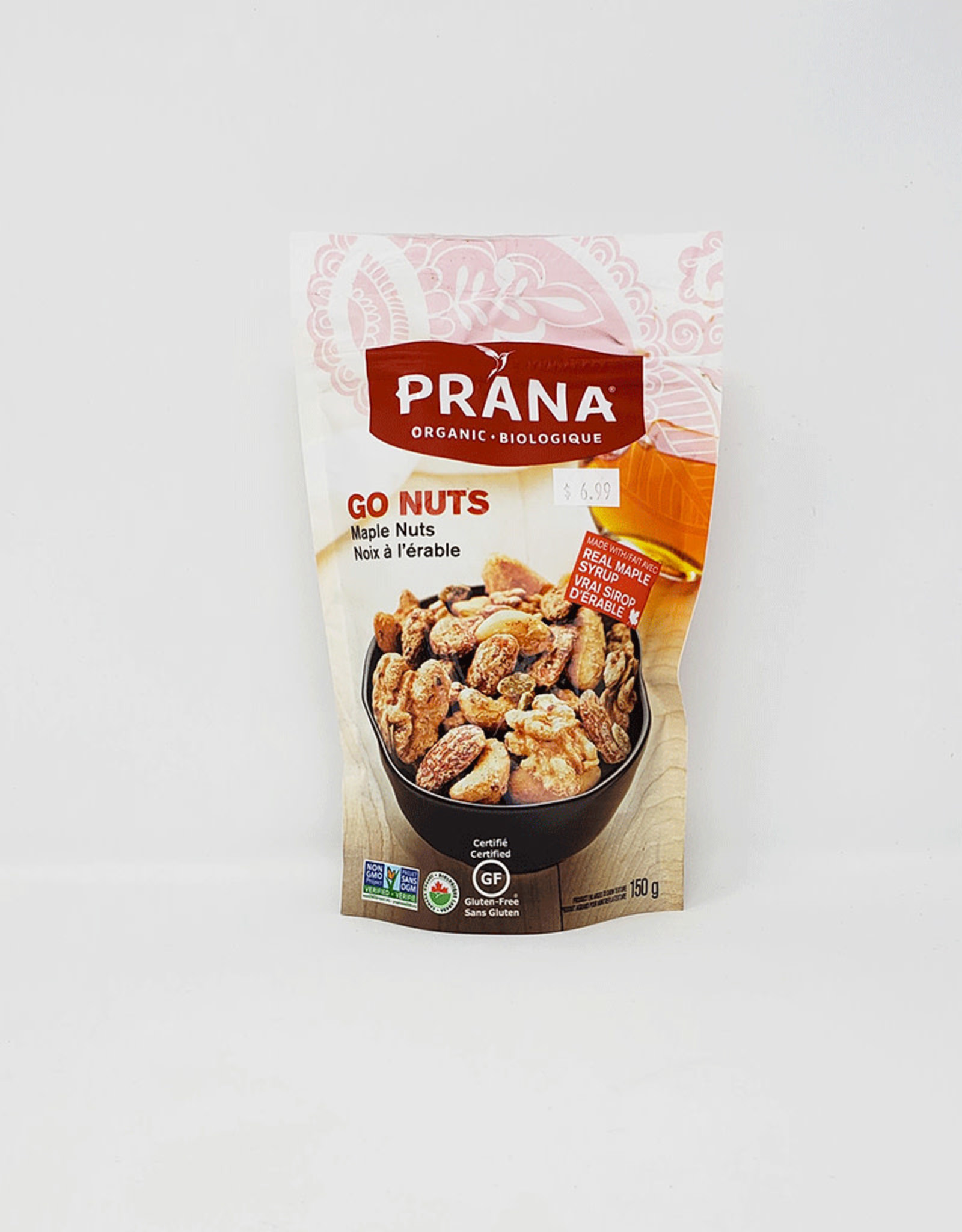 Prana Prana - Sweet Nut Mix, Go Nuts Maple Nuts (150g)