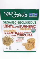 R.W. Garcia R.W. Garcia - 3 Seed Crackers, Organic Lentil Turmeric (155g)